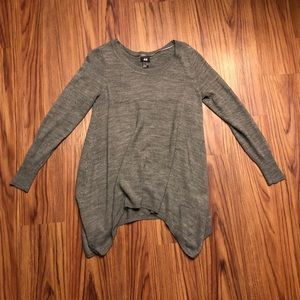 H&M Knit Side Hi-Lo Sweater